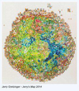 Jerry Gretzinger - 2014 - Jerry's Map
