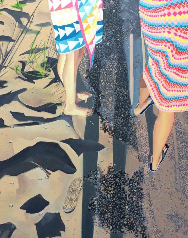 Amanda Acker - Beach Shadow
