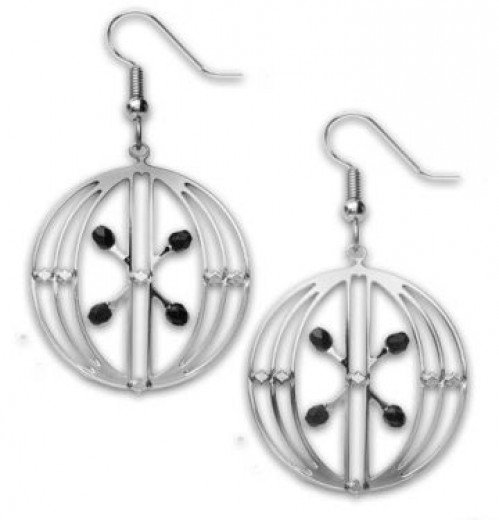 Sullivan Elevator Earrings Chicago Stock Exchange