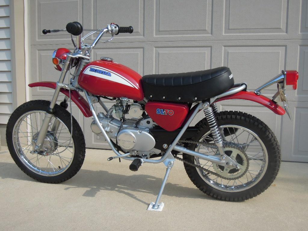 Honda 1971 Sl70 Restoration Project  Wright Way Restorations