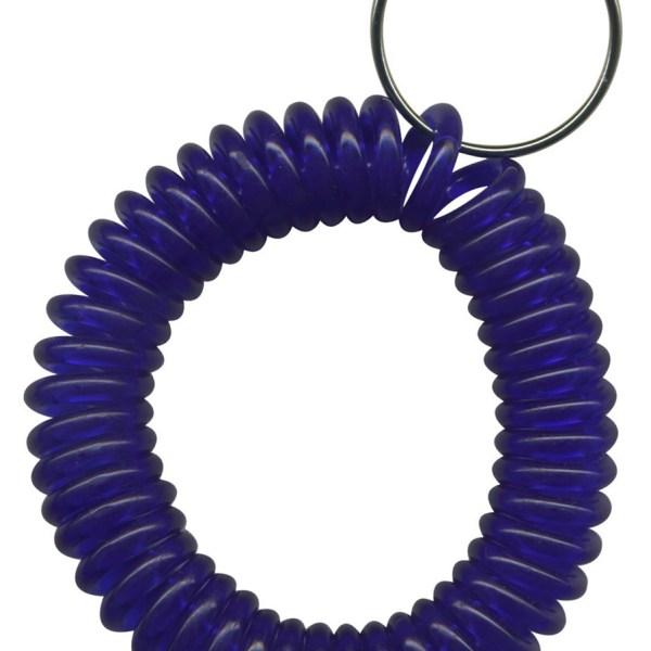 Transparent Dark Purple wrist coil