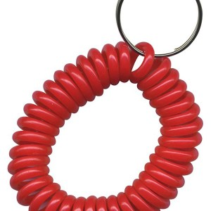 solid red Wrist Coil