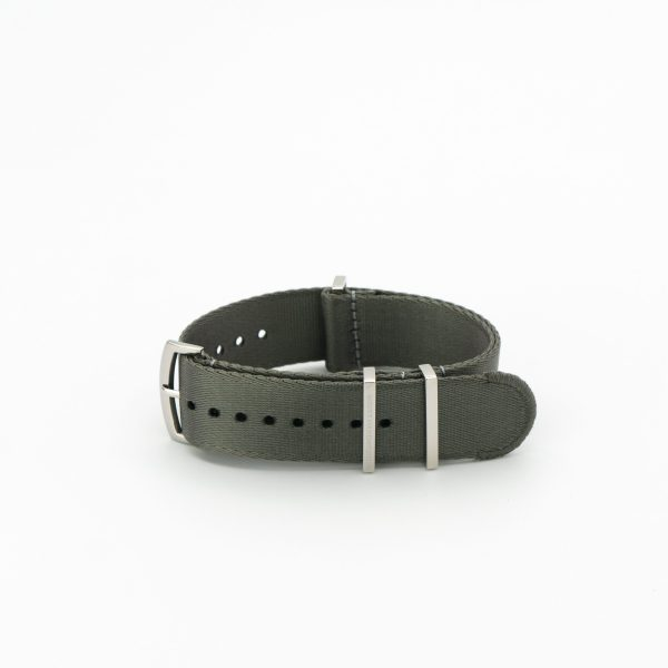 Seal-Gray-Loops-product-image-solid-steel-wrist-hardware-nylon-watch-strap-military-polyamide-fabric-replacement-band