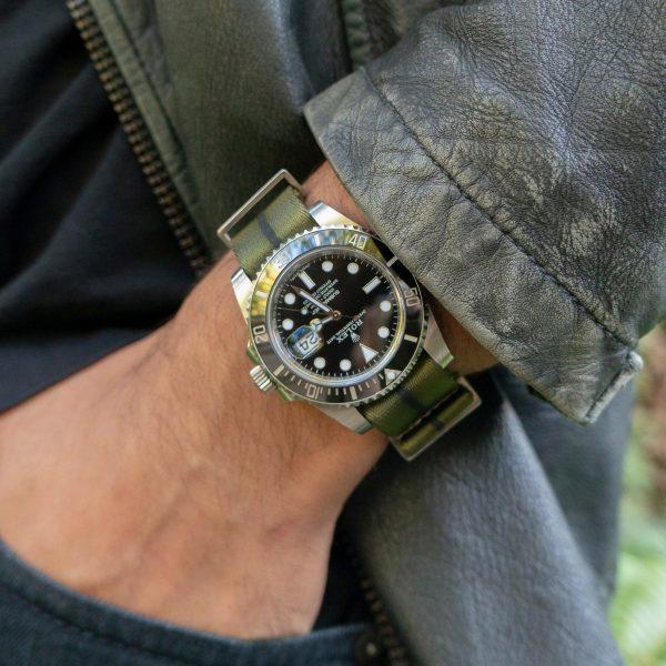 guerrilla-green-leather-wrist-hardware-watch-strap