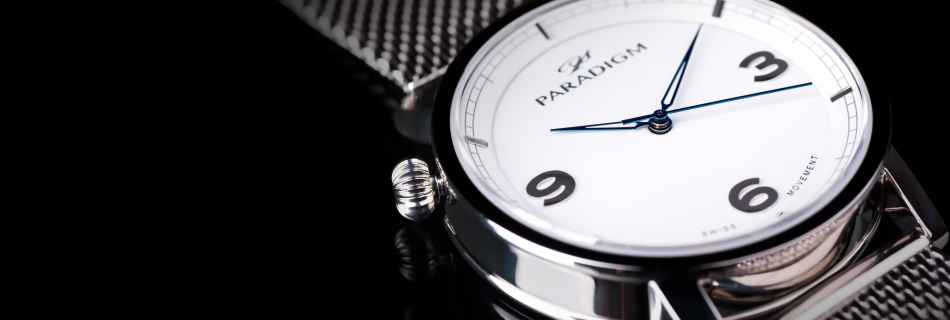 We had a chat with Daniel the founder of Paradigm watches