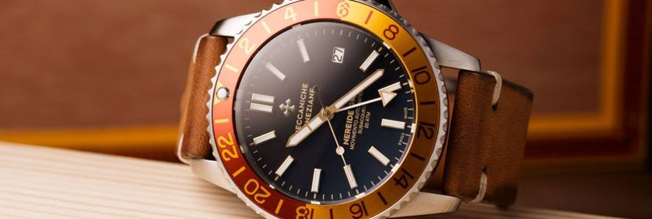 Meccaniche Veneziane Nereide GMT –  Crowdfunding Reached Goal In Only Thirty Seconds