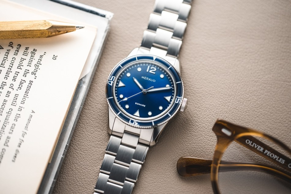 Méraud Watch Co. blue