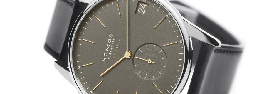 NOMOS –  Time for green and blue with Orion neomatik 41