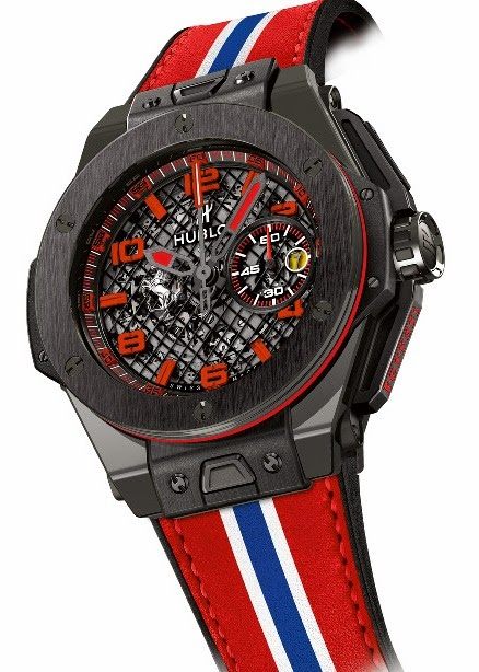HUBLOT - Big Bang Ferrari Black Ceramic & Big Bang Ferrari Grey Ceramic 2