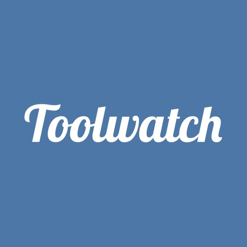 Toolwatch logo (white)