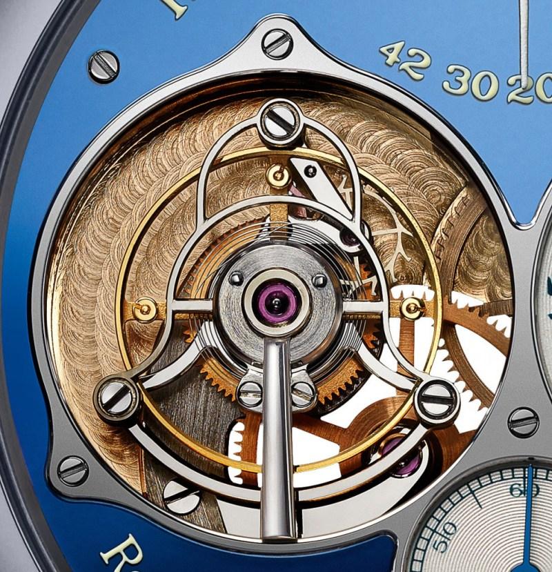 FP Journe Tourbillon Souverain Blue Only Watch 2015 1