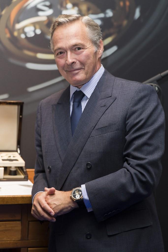 Karl-Friedrich Scheufele, President of La Chronométrie Ferdinand Berthoud