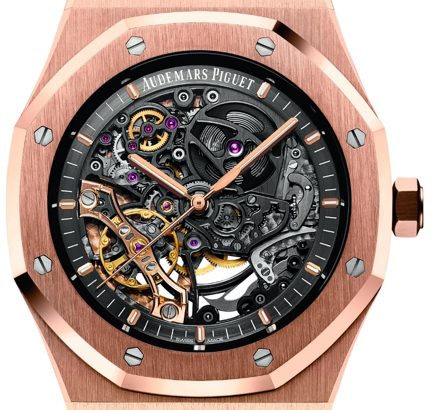 23a888d5770 SIHH 2016: Audemars Piguet Royal Oak Double Balance Wheel Openworked ...