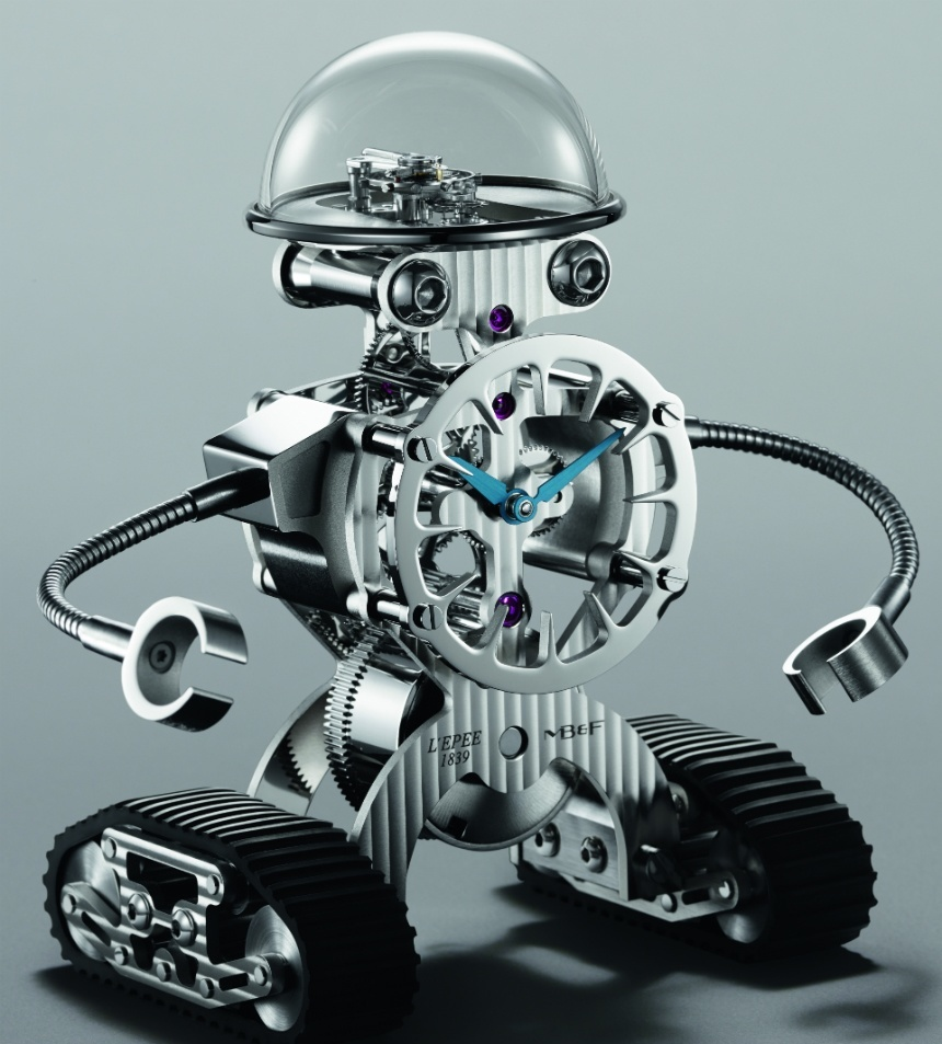 MBF-Sherman-Happy-Robot-Limited-Edition-Clock-palladium