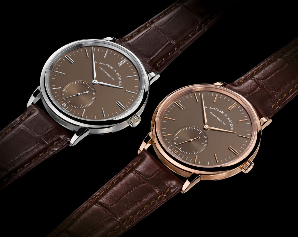 Lange-Saxonia-Automatic-terra-brown-dial-1