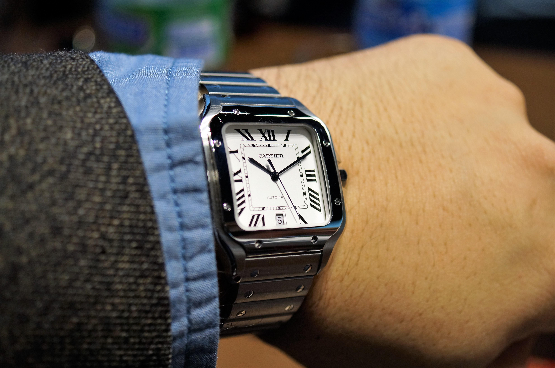 Post-SIHH 2018: Cartier Santos de Cartier Watch Collection ...