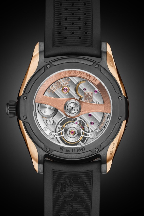 H-Moser-Cie-Pioneer-Tourbillon-Red-Gold-DLC-Case-and-Blue-Fume-Dial-1