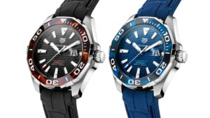 Introducing The TAG Heuer Aquaracer 43mm Tortoiseshell Effect Calibre 5 Automatic Watches