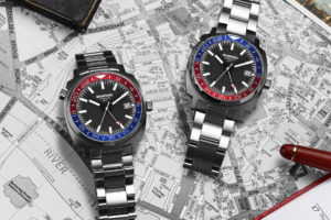 "Introducing The Bamford London Heritage Night ""Pepsi"" Owl And Mirage GMT Watches"