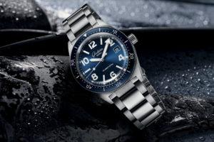 Introducing The Glashütte Original SeaQ 39.5mm Blue Dial Watch