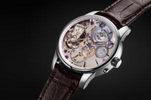 Moritz Grossmann Backpage Transparent Limited Edition Watch