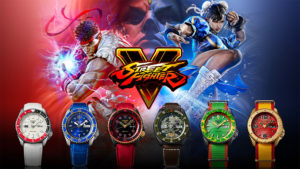 Introducing The Seiko 5 Sports Street Fighter V Limited Edition Watches