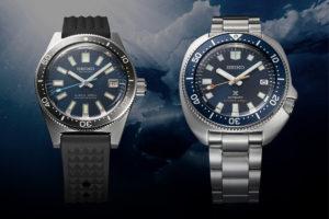 Seiko Prospex Diver 55th Anniversary SLA043J1 And SPB183J1 Watch