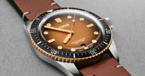 Oris Divers Sixty-Five Watch Now With Brown Gradient Dial
