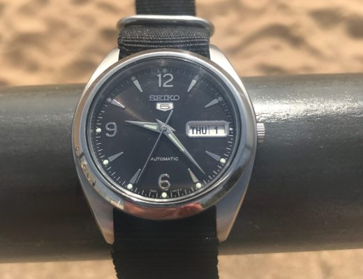 Seiko SKZ123 Explorer watch