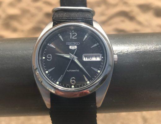 Seiko SKZ123 Explorer watch