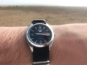 Seiko SKX123 Explorer Watch