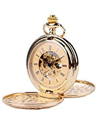 Double hunter pocket watch