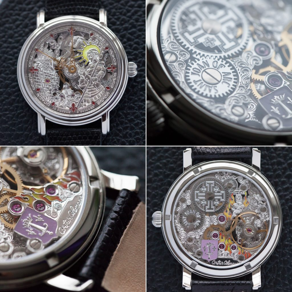 Artur Akmaev Joan of Arc watch