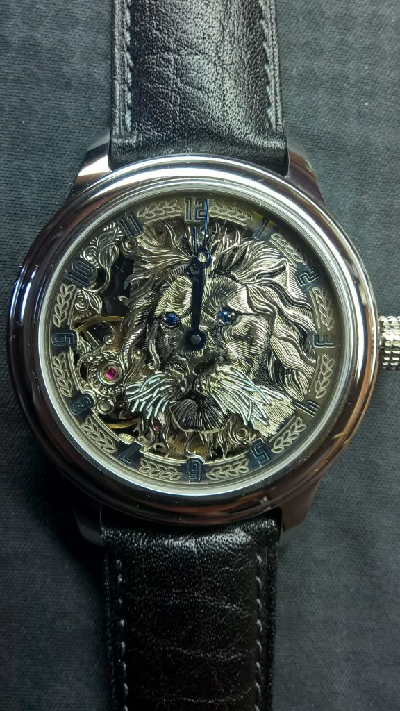 Artur Akmaev Lion watch