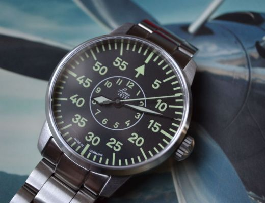 Flieger style watch