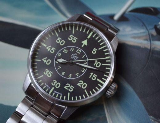 Flieger style watch