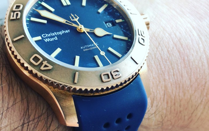 Christopher Ward Trident C60 Bronze