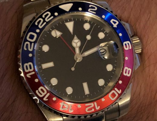 Parnis GMT watch review