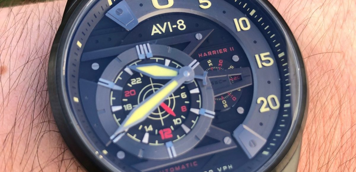 AVI-8 Hawker Harrier Ace of Spades Watch Review
