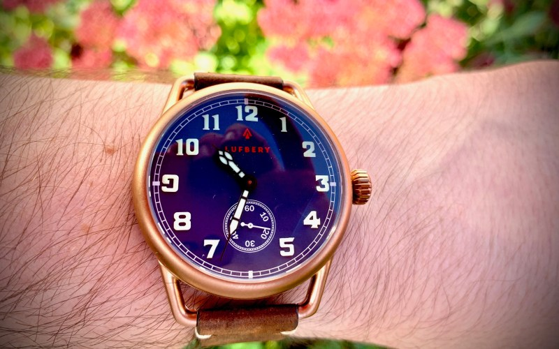 Lufbery Mark VII trench watch review