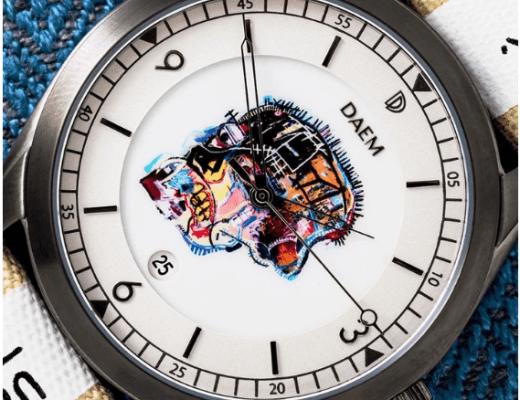 DAEM watches Basquiat skull