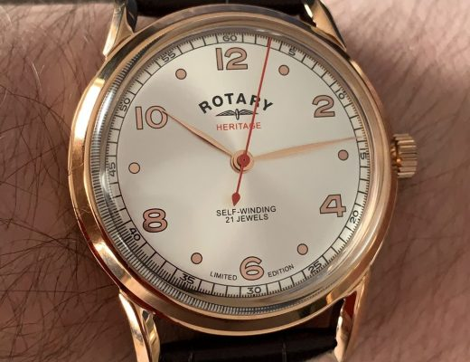 Rotary Heritage SS20 Series Watch Review
