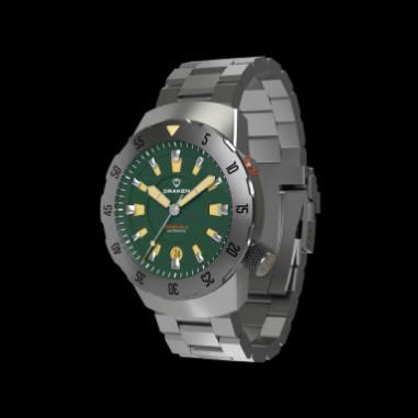 Benguela green on bracelet