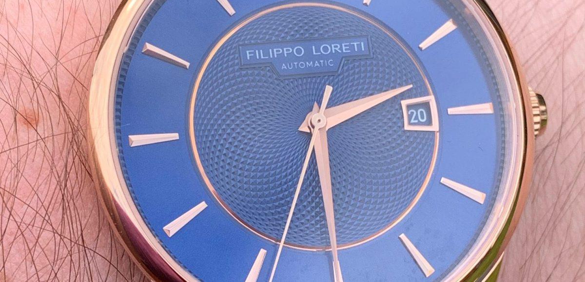 Filippo Loretti Rome Rose Gold Watch Review