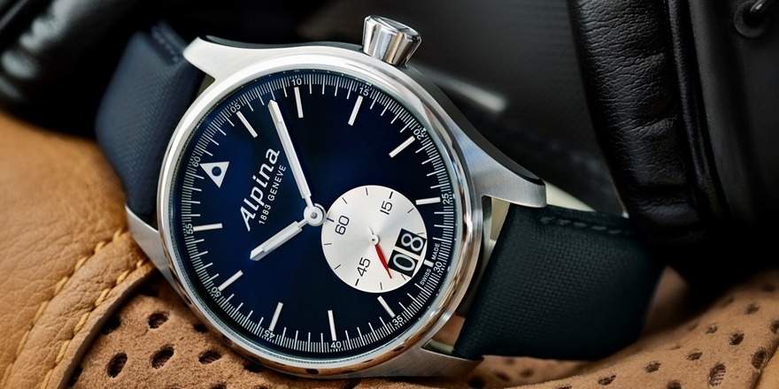 Alpina Startimer Pilot Big Date Professional The Wild Blue Yonder - Alpina watch review