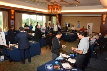 The vendor fair had 19 vendors and a few watch brands attending.