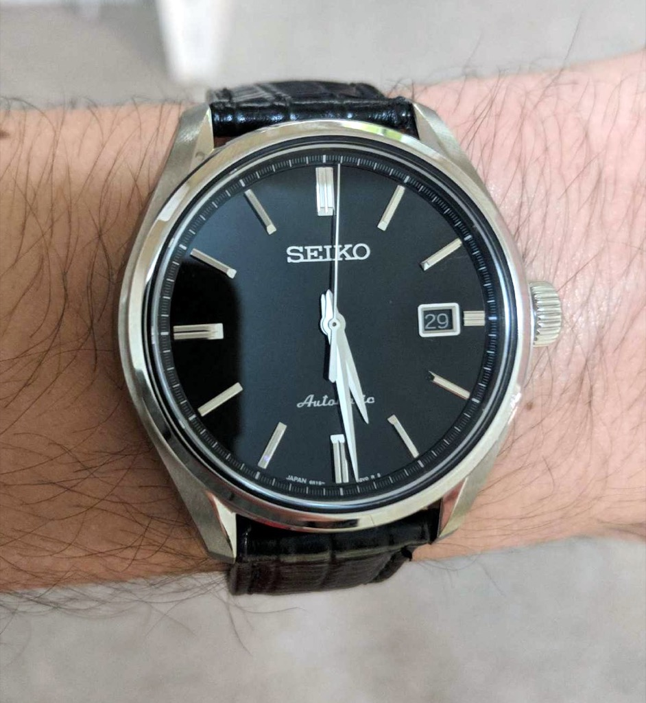 A Reader Submitted Review Of The Seiko Sarx035 Aka The Baby Grand