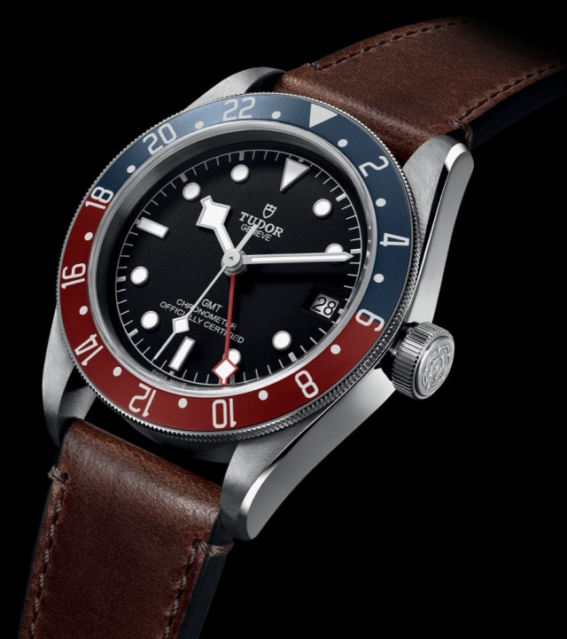 The Tudor Black Bay Gmt Now Ready To Travel The World Wrist Watch