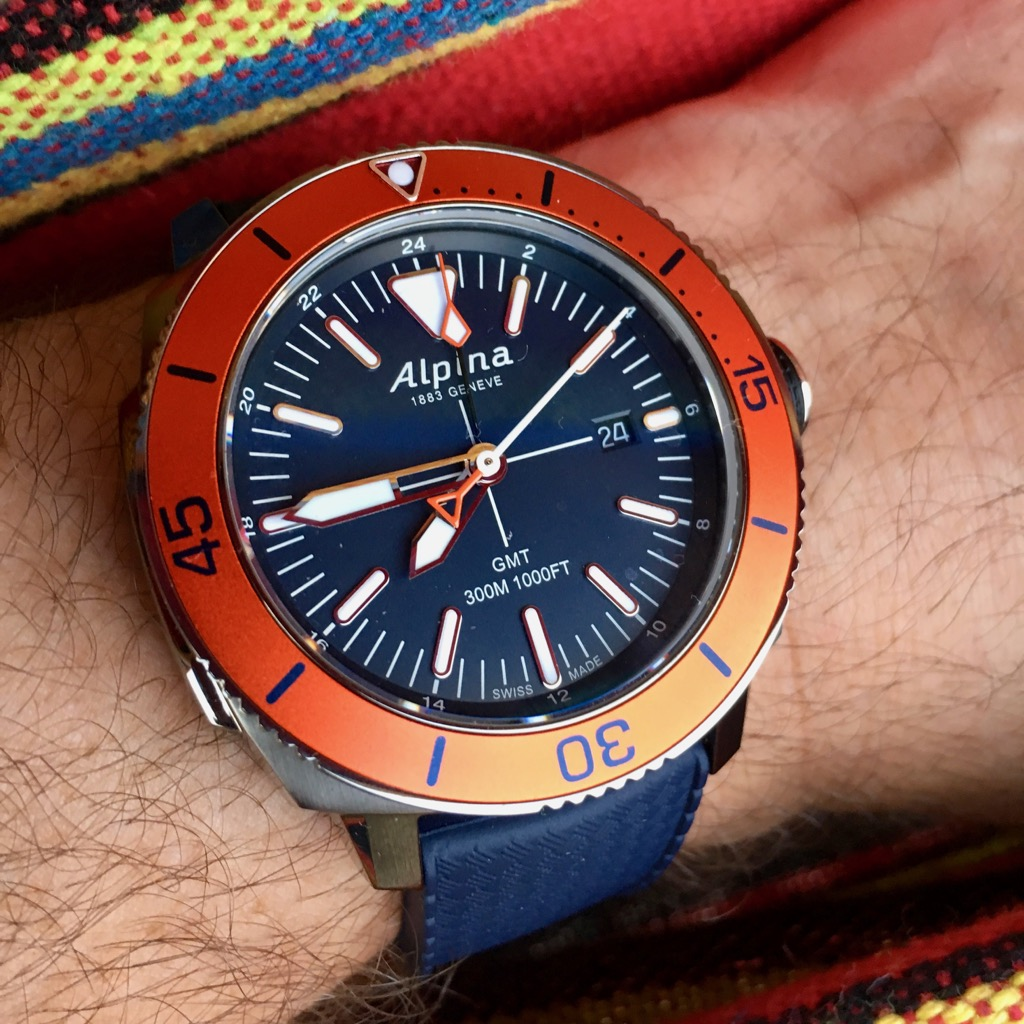 Checking Out The Alpina Seastrong Diver Wrist Watch Review - Alpina diver
