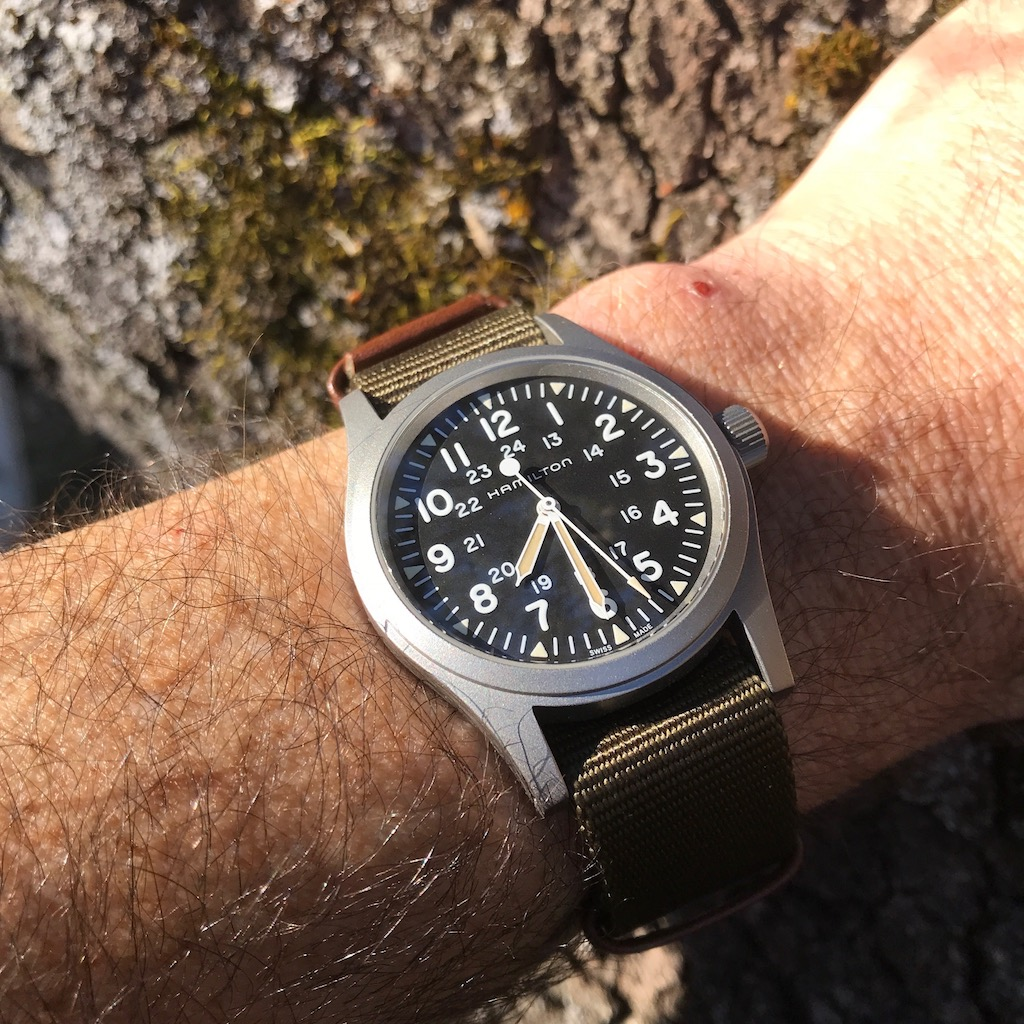Back To Basic With The Hamilton Khaki Field Mechanical Wrist Watch